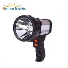 Pistolet torche tactique super lumineux, batterie 18650 Rechargeable, 3 modes de lumière, chargeur USB
