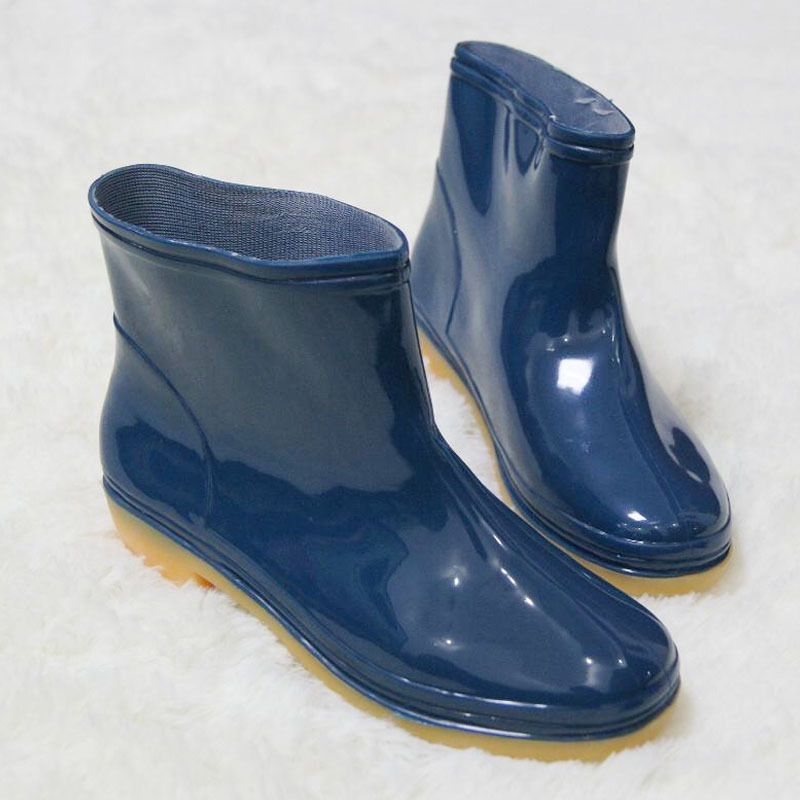 Rain Boots Rubber Sole Plastic Shoes Architecture Engineering For Waterproof Shoes