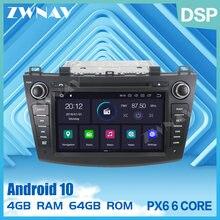 PX6 Dsp Ips 4G + 64Gb Android 10.0 Auto Gps Navi Radio Audio Stereo Voor Mazda 3 Axela 2009-2012 Auto Dvd Multimedia Speler Head Unit