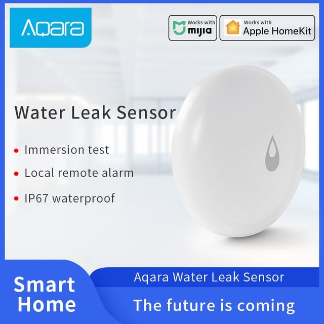 Aqara Acqua Sensore di IP67 Acqua Immergere Rivelatore di Norma Mijia Smart Home, Casa Intelligente A Distanza di Allarme di Sicurezza di Lavoro con il Aqara Hub