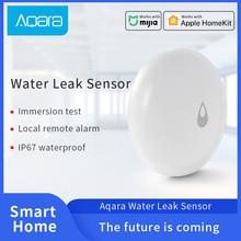 Aqara Water Sensor IP67 Water Immersing Detector for Mijia Smart Home Remote Alarm Security work with the Aqara Hub