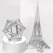 Ant  Magnetic Balls Magnet Construction Set rod buck ball combination set assembling wisdom decompression toy
