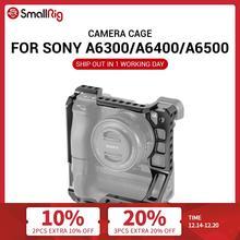 Smallrig A6400 Kooi Dslr Camera Kooi Voor Sony A6000/A6300/A6400/A6500 Met Meike MK A6300/A6500 batterij Grip 2268