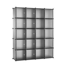 20 куб шкаф для одежды спальни органайзер хранения съемный пластиковый