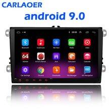 Autoradio multimédia, GPS, Android 8.1, 2 Din, pour Volkswagen, Skoda, Octavia, golf 5, 6, touran, passat B6, polo, tiguan, yeti, rapid Bora