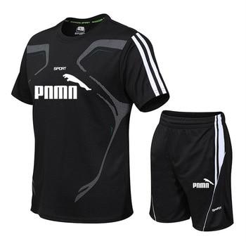 Brand Men's Sportswear Suit GYM Fitness Clothing Football Training Set Jersey Jogging Men's Suit Running Sportswear Sports Suit