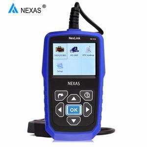 Image 1 - NEXAS NL102 сканер для тяжелых грузовиков OBDII / EOBD / HDOBD сканер для грузовиков и автомобилей диагностический инструмент для передачи тормозов двигателя