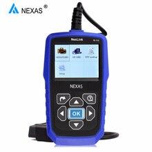 NEXAS NL102 escáner de camiones pesados OBDII / EOBD / HDOBD escáner para camión y coche herramienta de diagnóstico de transmisión de frenos