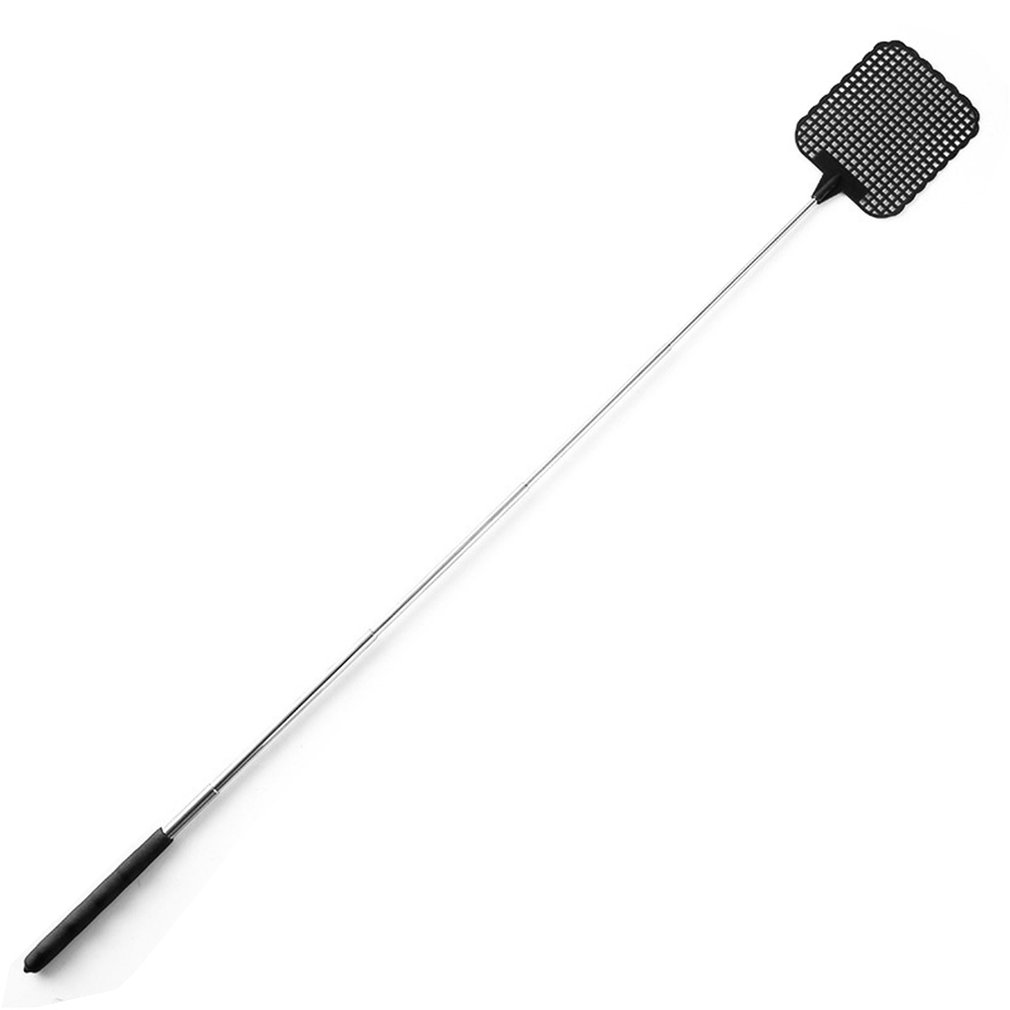 Fly Swatter Kill Fly And Mosquito Anti-fly Plastic Fly Swatter Retractable Summer Mosquito Killer Home Fly Artifact