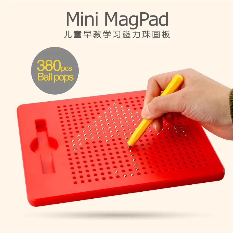 Hot Sales Creative Children'S Educational Toy Steel Ball Magnetic Drawing Board Environmentally Friendly Magnetic Steel Ball Wri