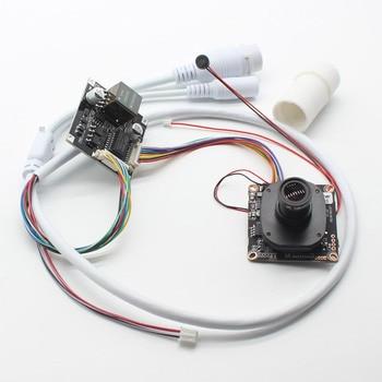 HD 48V POE module + IP CCTV Camera module + POE cable Network 2mp 4mp 5mp Security IPC XMEye + lens IRCut