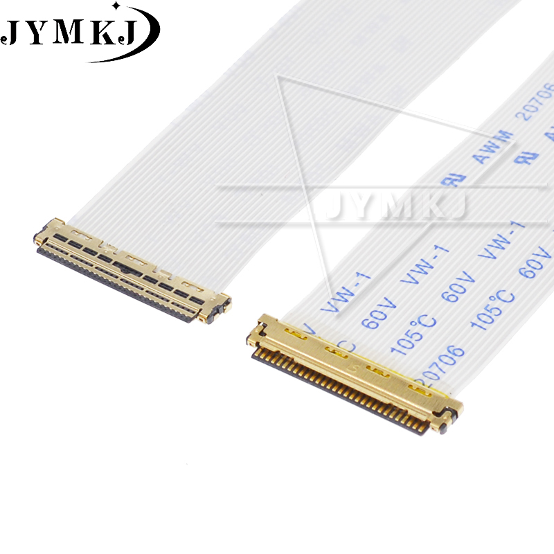 EDP I-PEX 0.5MM Ribbon Cable AWM 20706 105C 60V VW-1 30 Pin 40 Pin