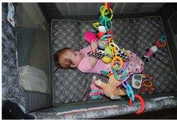 Подвеска детский палец упражнения сцепление сила тактильные соединения кольцо Пряжка младенческой токарный станок обучающая игрушка для ...