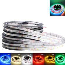 DC 12V RGB LED Strip Lighting Tape AMD 5050 2835 Waterproof 5M Flexible LED Strip Light 12V Tape Lamp TV Decoration Room Lamp