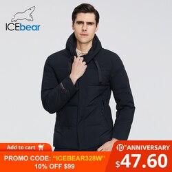 ICEbear 2019 dei Nuovi Uomini di Abbigliamento di Alta Qualità degli uomini di Inverno Caldo Rivestimento del Cappotto di Marca MWD19851I