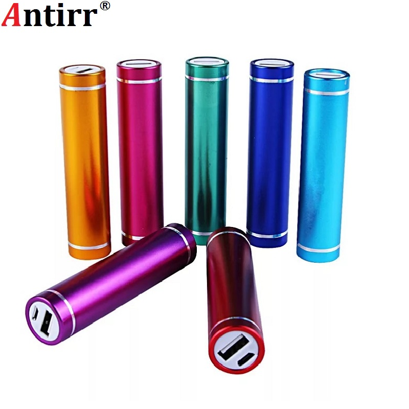 Multicolor Metal Power Bank DIY Kit Storage Case Box Free Welding Suit 1X 18650 Battery 5V 1A USB External Charger Smart Phone