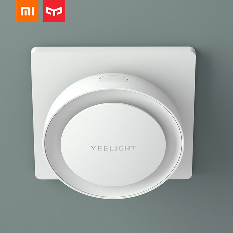 Xiaomi Mijia Yeelight YLYD11YL LED Night Light For Children Light Sensor Light Kids Smart Mini Bedroom Corridor Light EU Plug