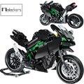 Mailackers Neue Stadt Moto Racing Motorrad Technische Motorrad Fahrzeuge Bausteine Ziegel Jungen Spielzeug Geschenke Für Kinder Geschenke
