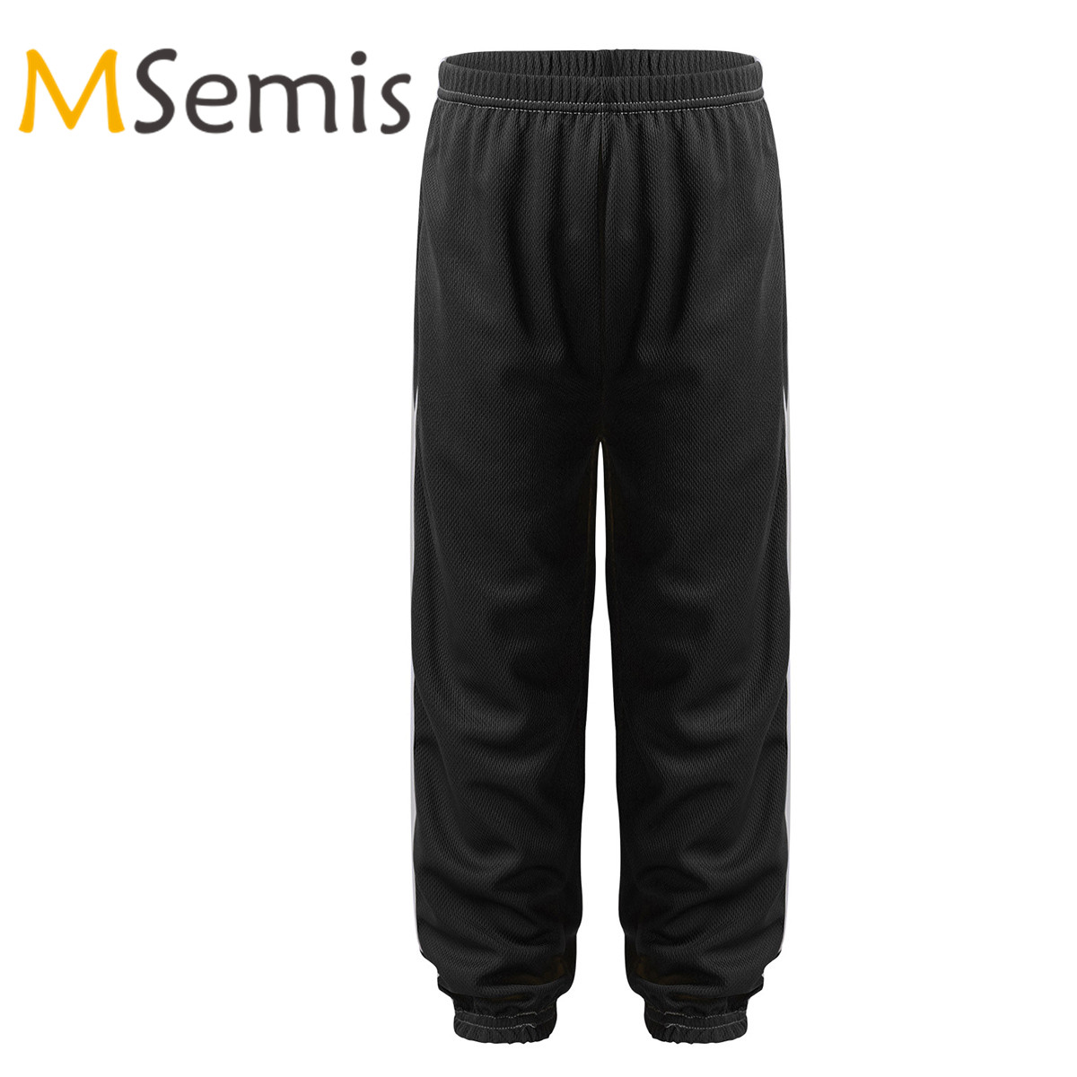 Kids Boys Girls Sports Pants Soft Breathable Sportswear Long Bloomers Harem Pants Anti-Mosquito Pants Sport Casual Trousers