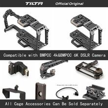 Bmpcc tilta TA T01 A G フルカメラケージすべてための 4 18k/6 18k カメラトップハンドル木製サイドハンドル F970 バッテリー
