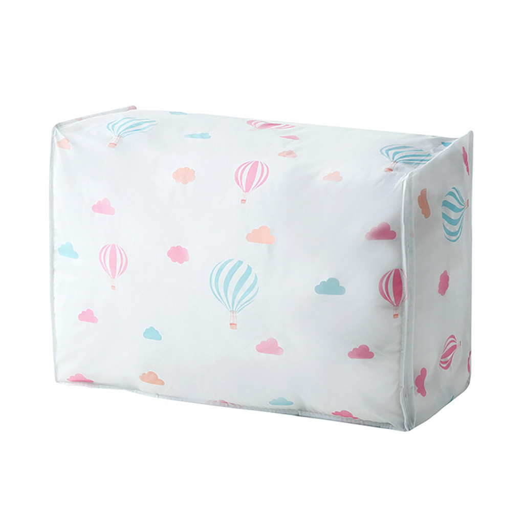 Складная домашняя сумка для хранения Контейнер для одежды одеяло шкаф Органайзер для свитера коробка, мешочек - Цвет: A