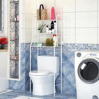Estantería gruesa de acero inoxidable para armario para baño, estantería para lavadora, ahorro de espacio, almacenamiento de limpieza, HWC