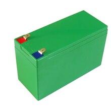 12V 10Ah/15Ah Li ion batterie boîte 18650 lithium batterie taille du boîtier L150 * W65 * H94mm ABS boîtier en plastique