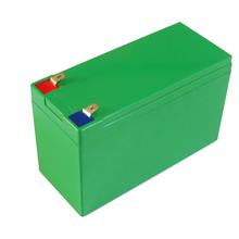 Caja de batería de ion de litio de 12V 10Ah/15Ah, caja de batería de litio 18650, tamaño L150 * W65 * H94mm, caja de plástico ABS