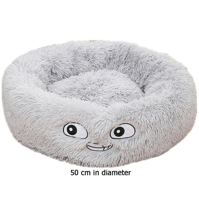 Lamb Velvet Plush Dog Cat Beds Soft Plush Pet Sofa Waterproof Bottom Nest Baskets Sleeping Cushion Household Supplies 18