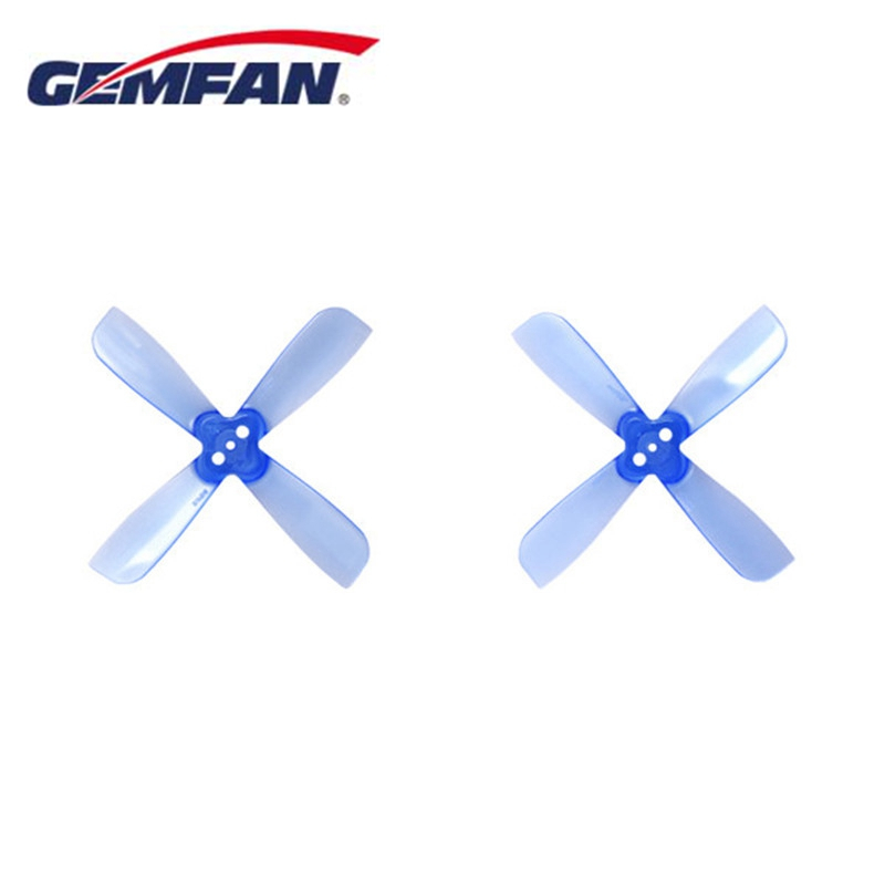 10Pairs 20PCS Gemfan 2035 2X3.5X4 4 Blade Propeller Prop 1.5mm Mounting Hole CW CCW Blue For FPV RC Racing Drone Quadcopter