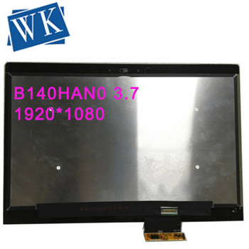 Free shipping! B140HAN03.7 Touch Panel Assembly Screen+Digitizer For HP Laptop Lcd Screen 1920*1080 EDP 30pin Lcd Screen