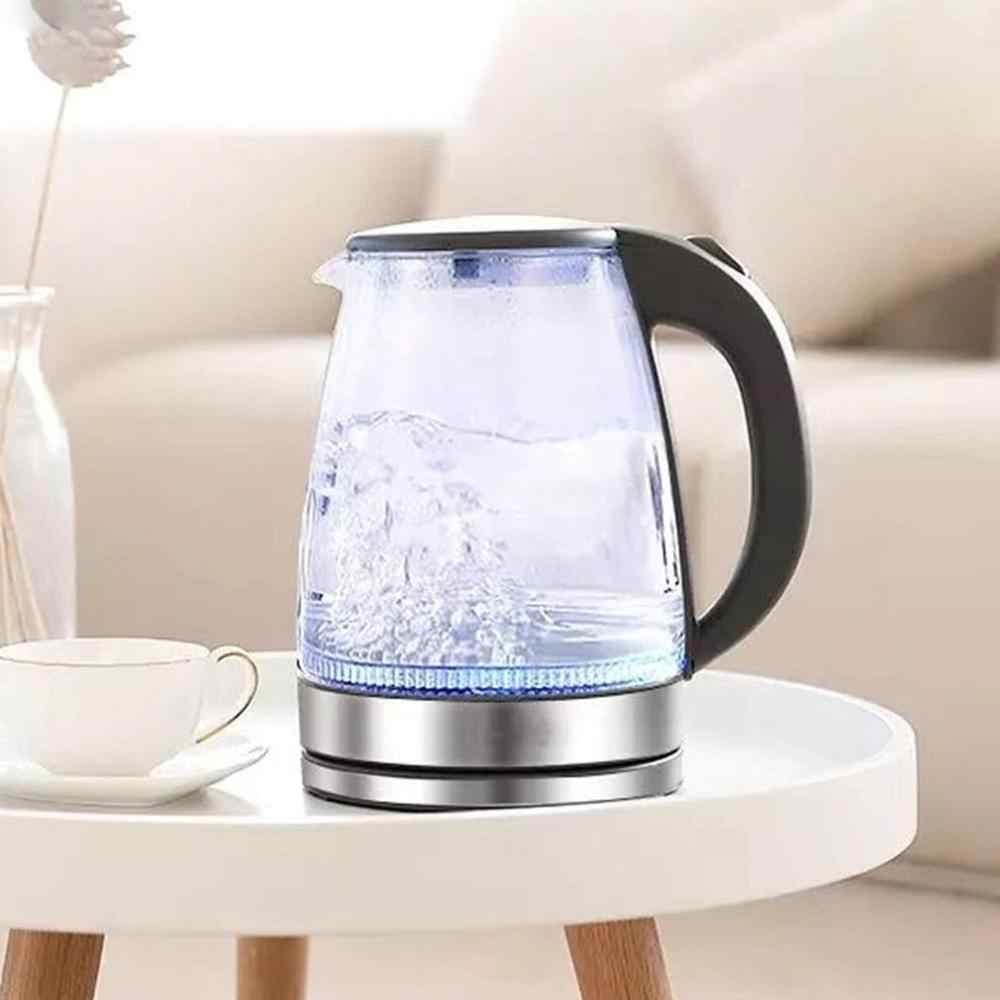 Stainless Steel Glass Electric Kettle Off Automatically Handheld Anti-hot Electric Kettle Household Kitchen Tools