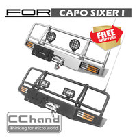RC Parts Capo SIXER 1:6 Samurai front metal bumper ARB Option parts