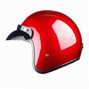 casque vega de moto mobylette Vintage classique et rétro, Design ouvert, léger taille M