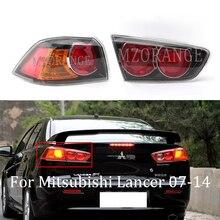 Mzorange Buitenste/Innerlijke Achterlicht Richtingaanwijzer Staart Achter Brake Lamp Licht Voor Mitsubishi Lancer Ex Evo 10 07 14 Waarschuwingslampje