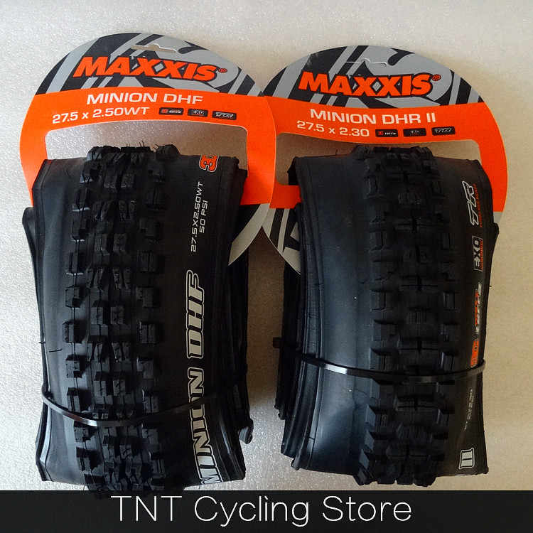 "Folding Maxxis Minion DHF DHR II 3C TLR Tubeless Ready Tires 26""27.5""29er*2.3/2.4/2.5/2.6/2.8WT Mtb Bike ENDURO AM FR DH Tyre"
