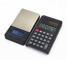 Высокоточные электронные ювелирные весы с калькулятором, 200/0,01 г