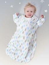 цена на Baby sleeping bag autumn and winter newborn sleeping bag baby kick-proof padded sleeping bag for children