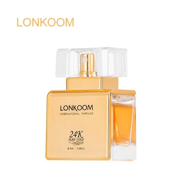 LONKOOM Green Apple 24K EDP Perfume For Men  Women Sample 10ml Long Lasting Fragrances Atomizer Deodorants pads for armpits 1