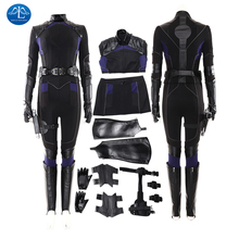 Cosplay Costume Agents Carnival Halloween Adult Women for 6-Skye Johnson-Suit Daisy Quake