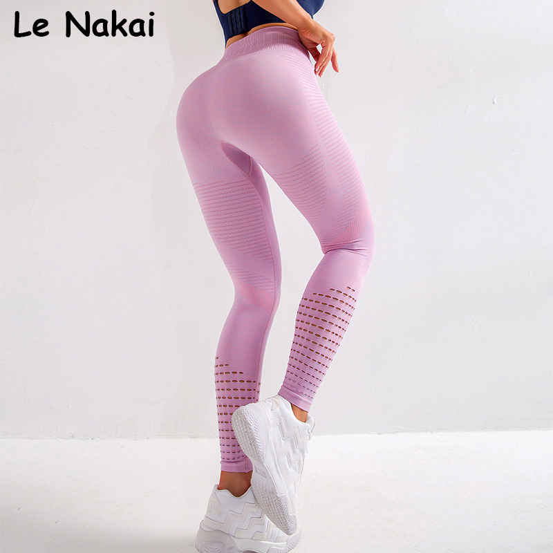 New vital seamless leggings for women fitness yoga pants squat proof gym legging workout sport leggings high waist jogging tight