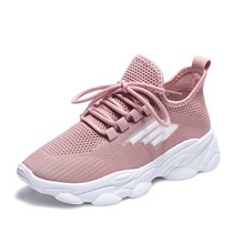 Women Fashion Shoes Color Casual Sport Sneakers Female Trend