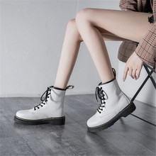 2021 Summer New Black Hot style Street Cool Thick-Soled Short Boots Martin Boots Ins