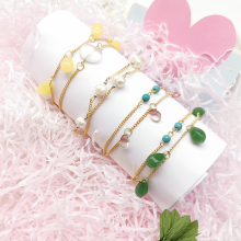 2019 new crystal pendant bracelet Exquisite handmade pearl Ms charm Gift wedding jewelry Free postage