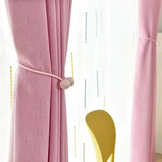 Blackout Solid Curtains For The Living Room Bedroom Curtain Drape On The Window Curtains For The Kitchen Door Children Kid