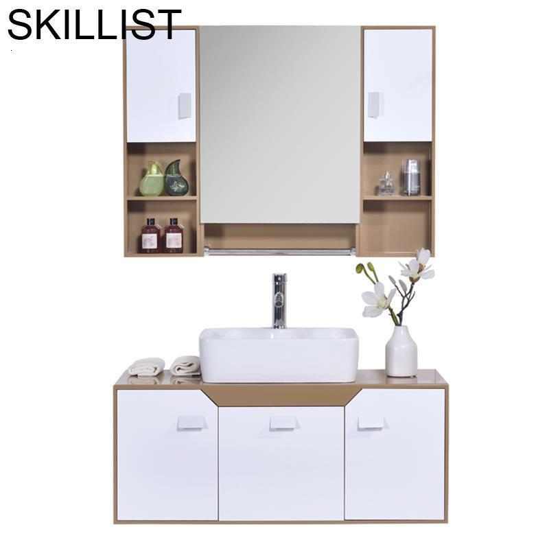 Toilette Toaletki Shelf Armoire Kast Meubel Badkamer Maison Mobile Bagno Banheiro Meuble Salle De Bain Vanity Bathroom Cabinet