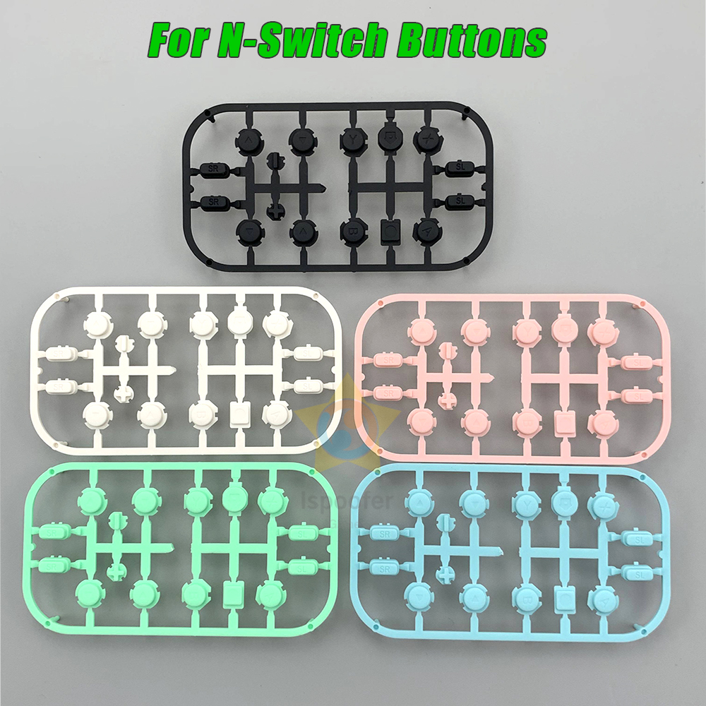 Botones de repuesto ZL ZR L R para Nintendo Switch Pro, Joy Con ABXY, pieza de reparación