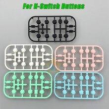 Reemplazo de botones de gatillo para Nintendo Switch Pro, botón de reemplazo para mando de Joy Con ABXY, pieza de reparación, ZL, ZR, L, R