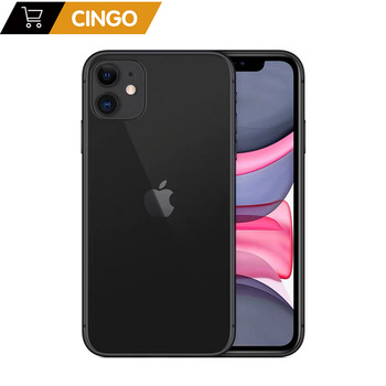 Original unlocked Apple iPhone 11 64GB/128GB/256GB 3110mAh dual 12MP camera A13 chip 6.1 inch LCD screen IOS smartphone LTE 4G
