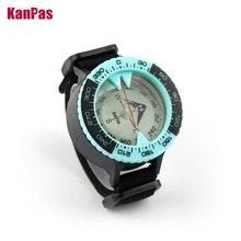 KANPAS Scuba diving compass / Dive compass / Compass sea navigation / Blue compass glow